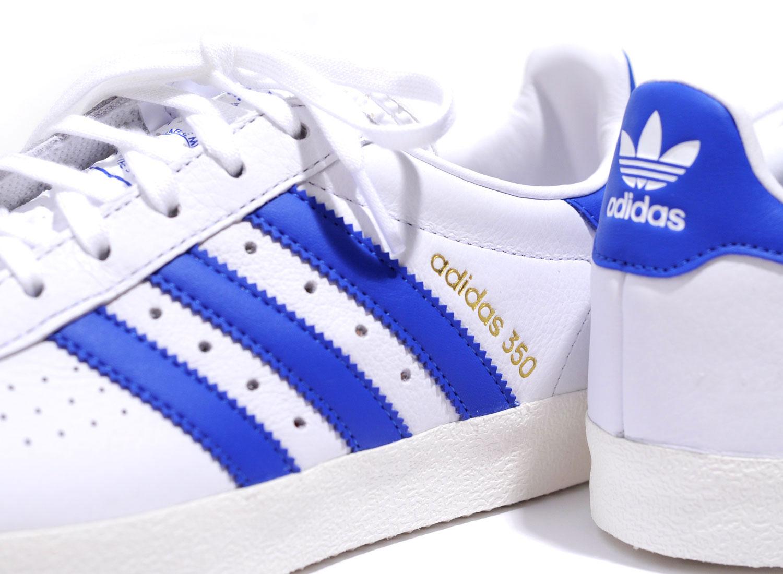 598075f4b5734 Adidas 350 White   Blue CQ2772   Soldes   Novoid Plus