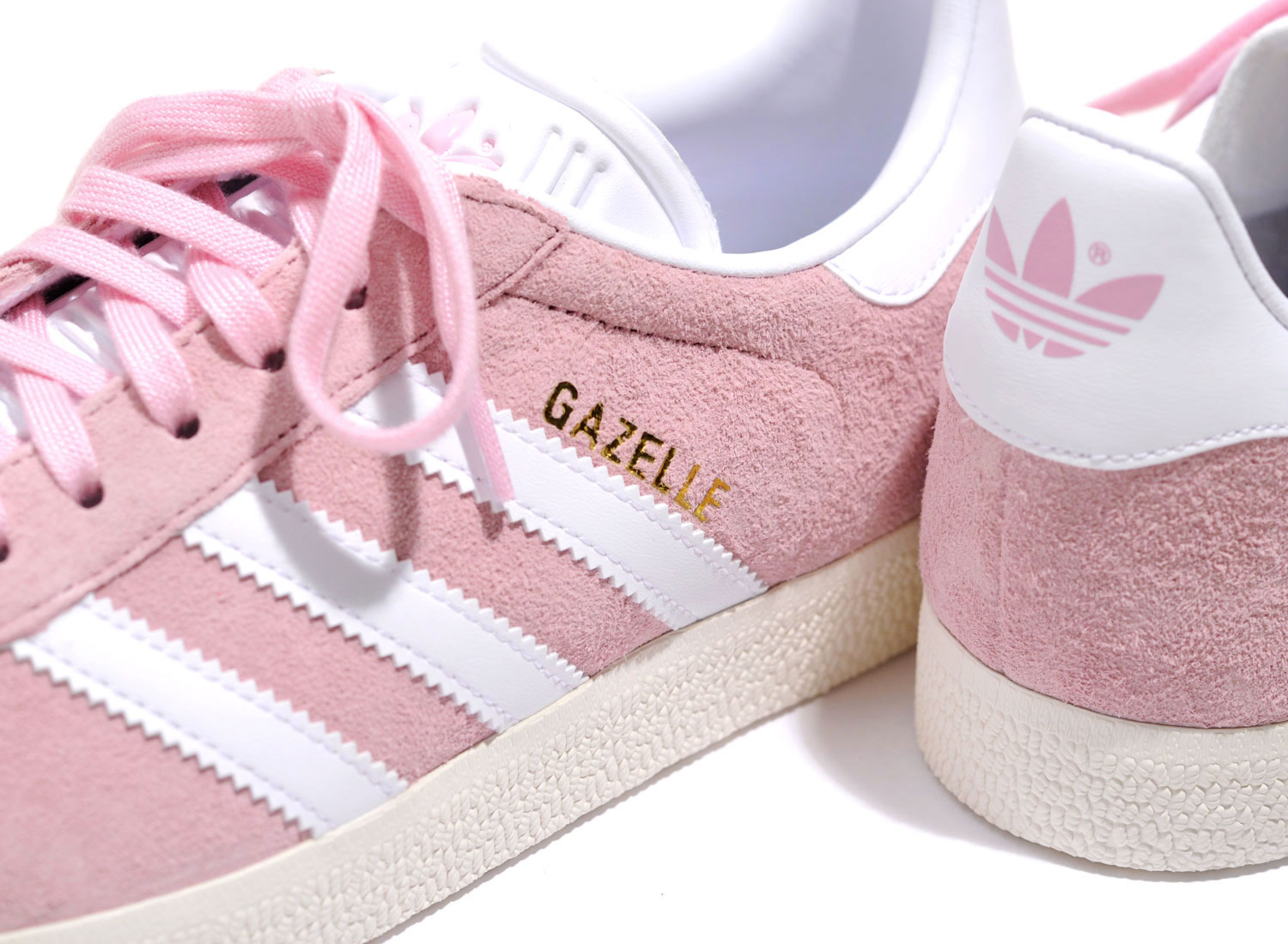 low priced dfe4c a7ffb Adidas Gazelle W Pink   White BY9352   Soldes   Novoid Plus