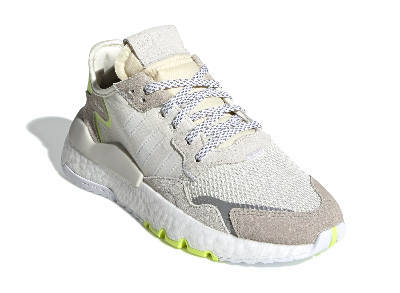 online store 38b65 263ac Adidas Nite Jogger Off White CG6098   Soldes   Novoid Plus