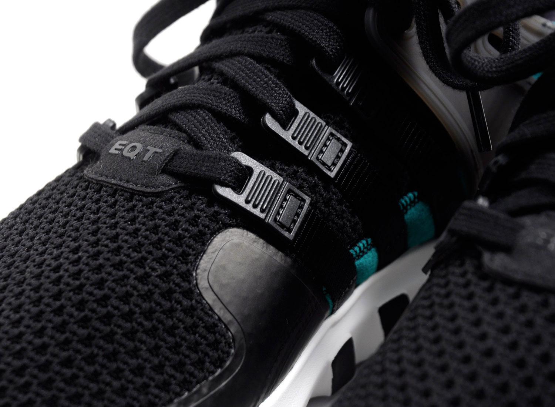 outlet store b67d3 5a872 Adidas Originals EQT ADV 91-16 Core Black / Sub Green