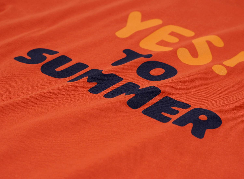 61b516b6b3e8 APC Yes to Summer T-shirt Red   Soldes   Novoid Plus