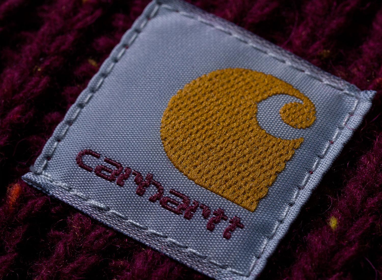 e2ea3583cff83 Carhartt Anglistic Plain Scarf Mulberry I015469   Soldes   Novoid Plus