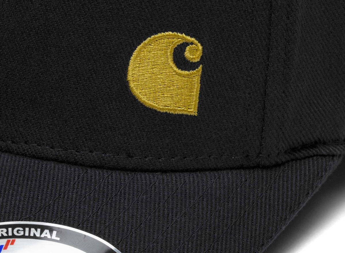 194aabb11 Carhartt WIP Match Cap Black / Gold