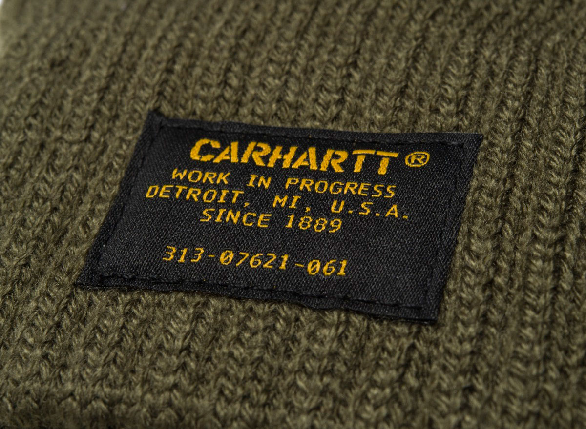 71857edeb82695 Carhartt Military Gloves Rover Green I023792 / Soldes / Novoid Plus