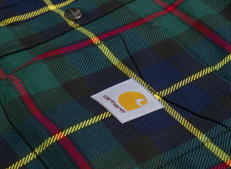 Carhartt Raynor Shirt Jac Cedar I025229   Soldes   Novoid Plus 98f8cfc899ae