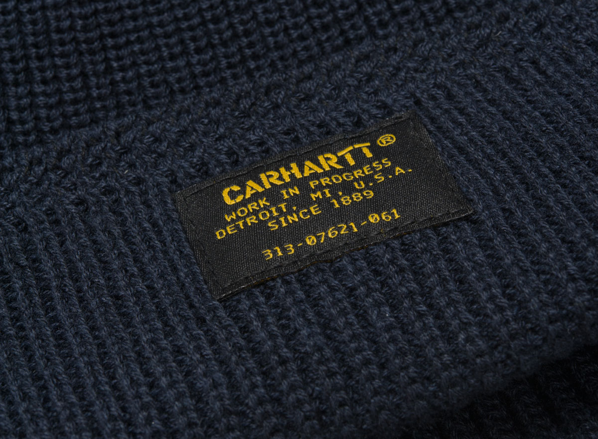 5f3339d2665fd Carhartt Truman Beanie Dark Navy I023684   Soldes   Novoid Plus