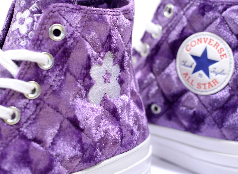 1c122ba9795 Converse x Golf Le Fleur Chuck 70 HI Tillandsia Purple 165600C / Soldes /  Novoid Plus