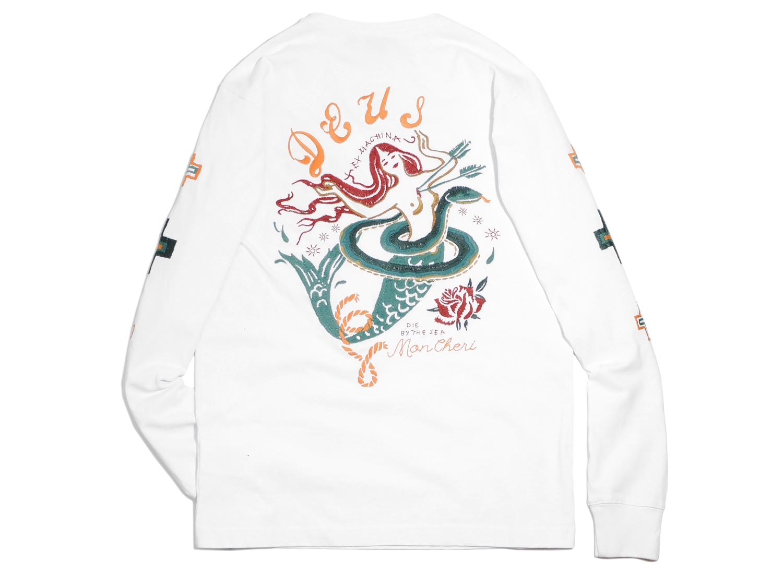 Deus Ex Machina Mon Cheri Tshirt White   Soldes   Novoid Plus 77f1a7d1f
