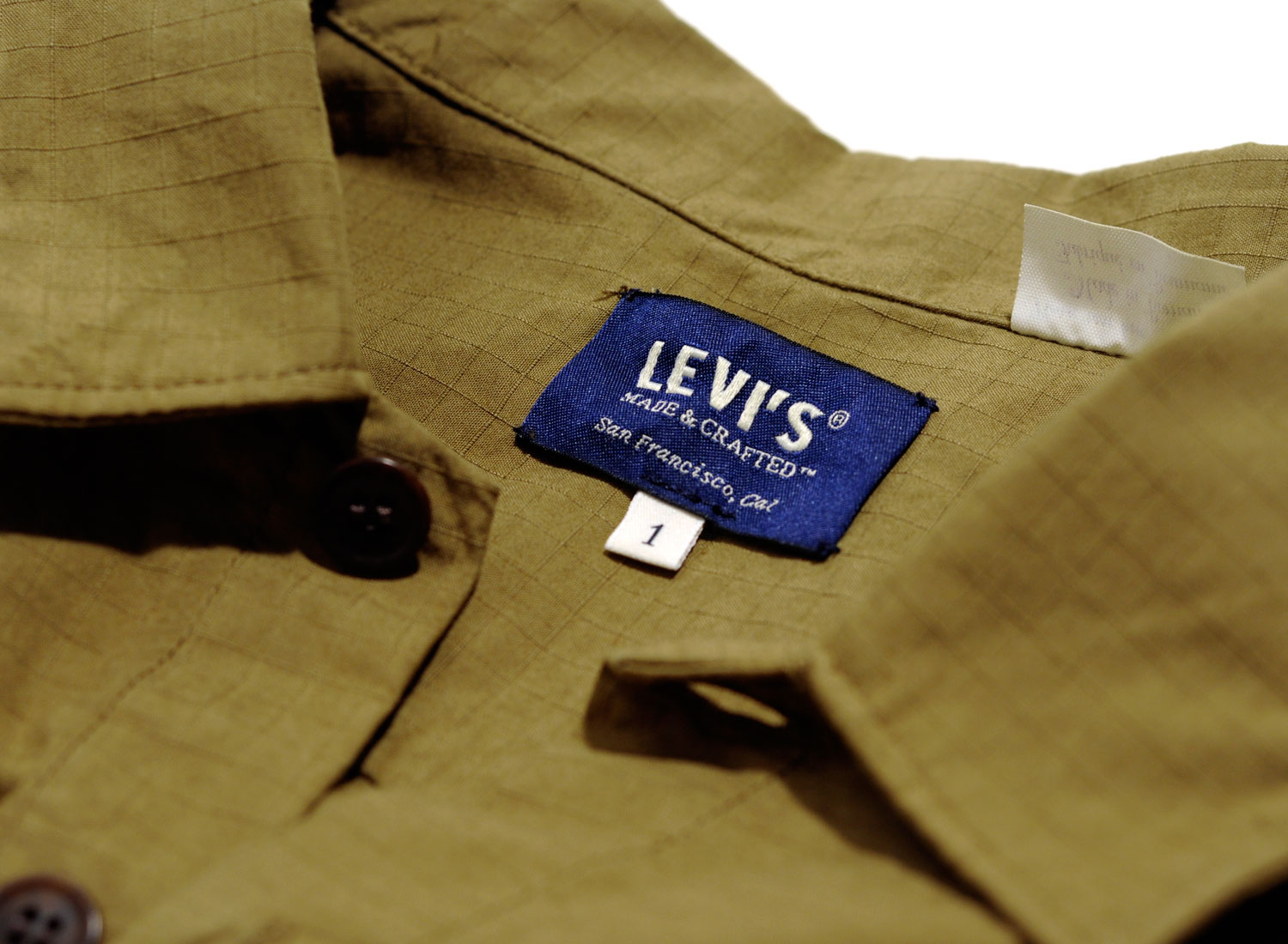 Levis made crafted military shirt ripstop novoid plus for Levis made and crafted shirt