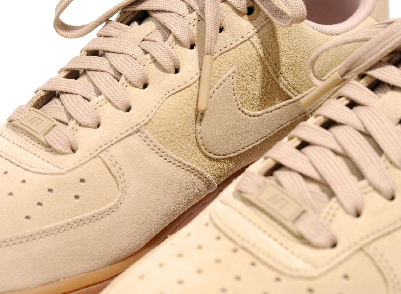 e6faea30923 Nike Air Force 1 07 LV8 Suede Mushroom AA1117-200   Soldes   Novoid Plus