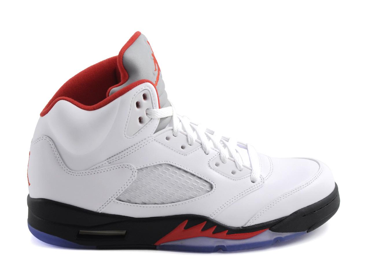 84bfafd19c2367 ... Nike Air Jordan 5 Retro Fire Red ...