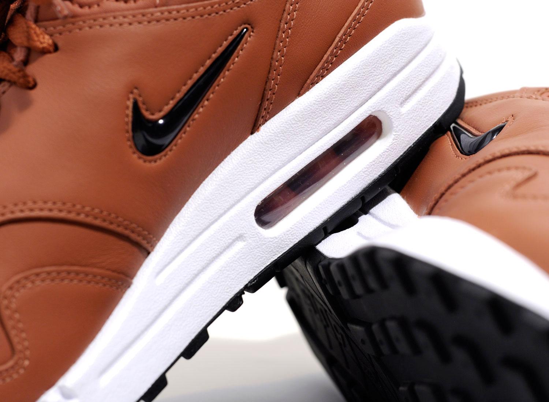 87aa0b6fd6 Nike Air Max 1 Premium SC Dusty Peach / Black 918354-200 / Soldes / Novoid  Plus