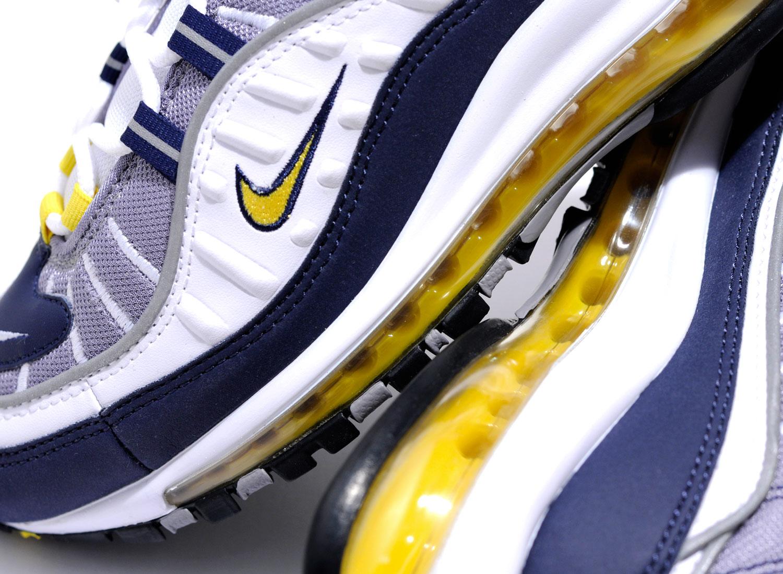 factory price fe617 a26e6 Nike Air Max 98 Tour Yellow