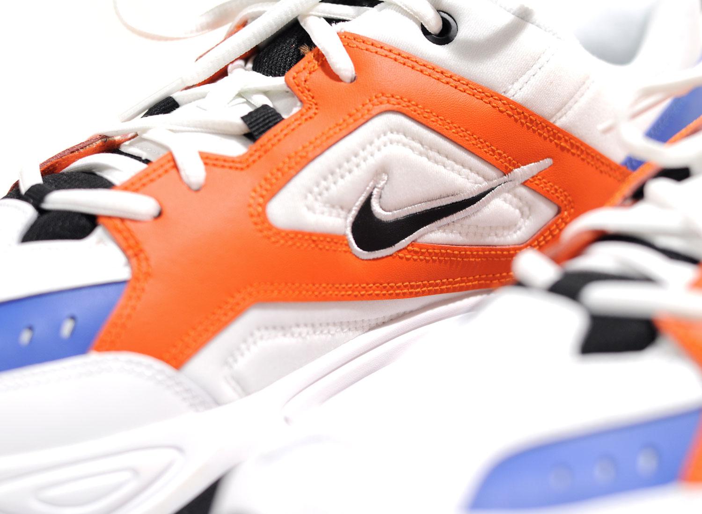 new style b9b92 5aa69 Nike M2K Tekno Summit White   Team Orange AV4789-100   Soldes   Novoid Plus
