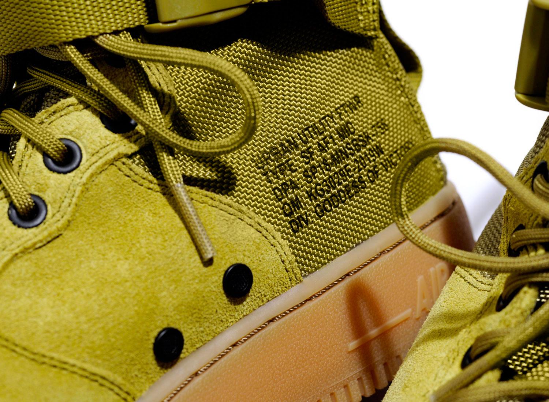 meet ebe22 94fcd Nike SF AF1 Mid Desert Moss 917753-301   Soldes   Novoid Plus