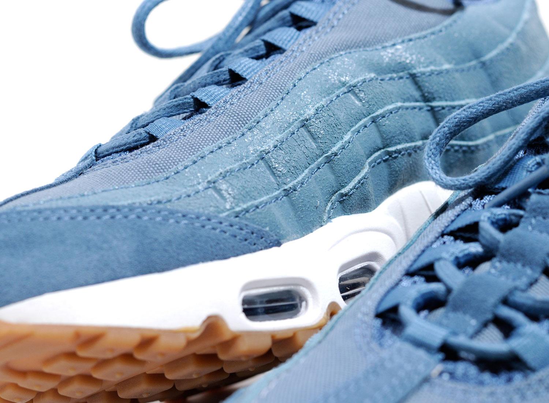 b55b856158 Nike W Air Max 95 Premium Smokey Blue 807443-006 / Soldes / Novoid Plus