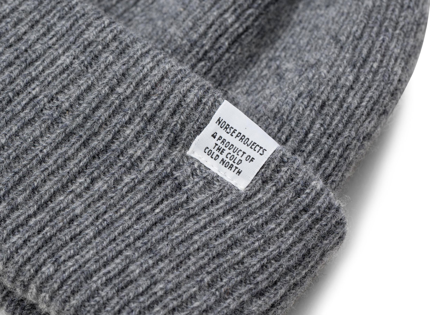 d364fab87d64c3 Norse Projects Norse Beanie Light Grey / Soldes / Novoid Plus