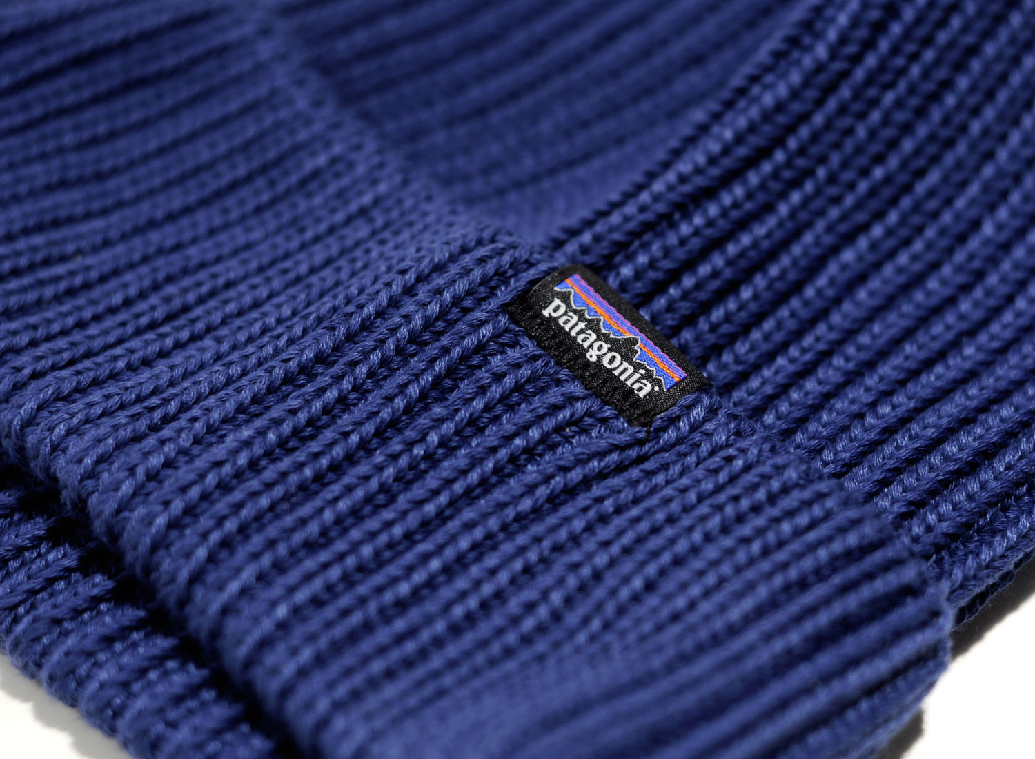 4bd06cc8501ec5 Patagonia Fishermans Rolled Beanie Blue / Soldes / Novoid Plus