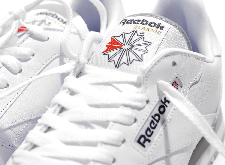 40a3e23612f Reebok Classic Leather White   Grey 2214   Soldes   Novoid Plus