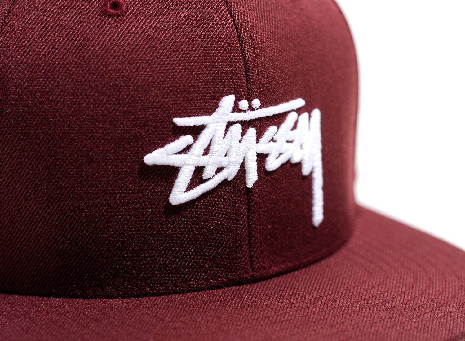 c58a374877f Stussy Stock FA16 Cap Burgundy   Soldes   Novoid Plus