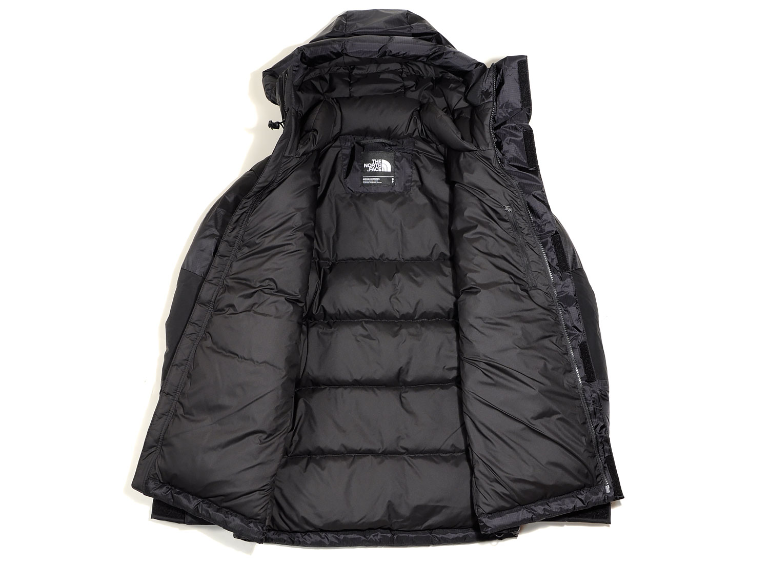de67b6ea7 The North Face Original Himalayan Windstopper Down Black