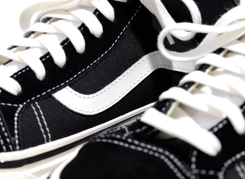 f173623ca5254a Vans Mid Skool 37 DX Anaheim Factory Black   White   Soldes   Novoid Plus