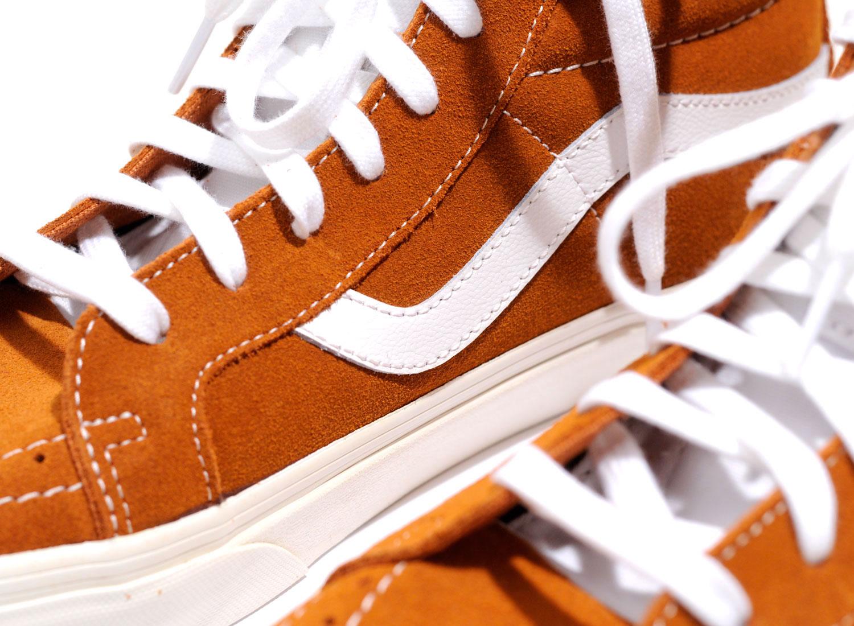 Vans Sk8 Hi Reissue Retro Sport Glazed Ginger