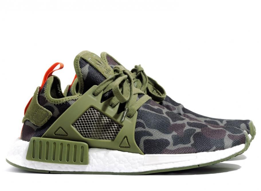 buy popular ed440 9cccd Adidas NMD XR1 Duck Camo Olive BA7232  Soldes  Novoid Plus