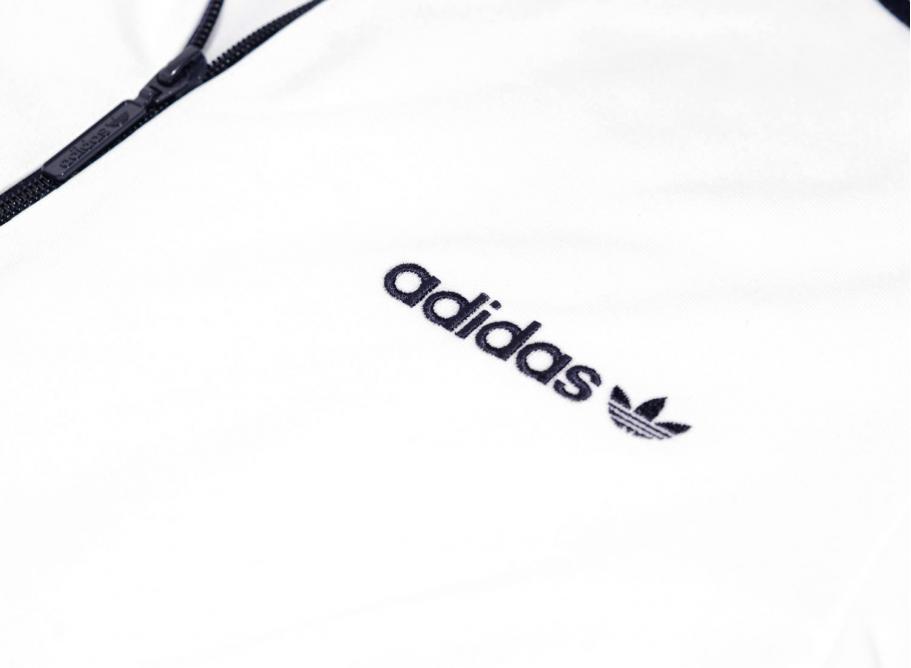 pistón Celsius Burro  Adidas Beckenbauer Track Jacket White / Navy BR2296 / Soldes / Novoid Plus
