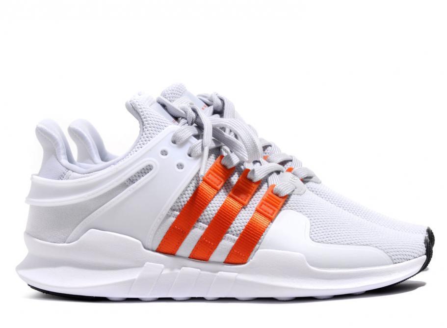 differently 7fc8b 63ce2 Adidas Originals EQT Support Adv Clear Grey / Bold Orange