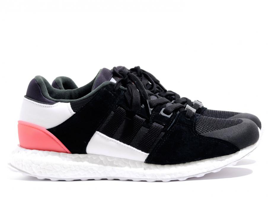 official photos a8fcf fb7ee Adidas EQT Support Ultra Black  Turbo Red BB1237  Soldes  No