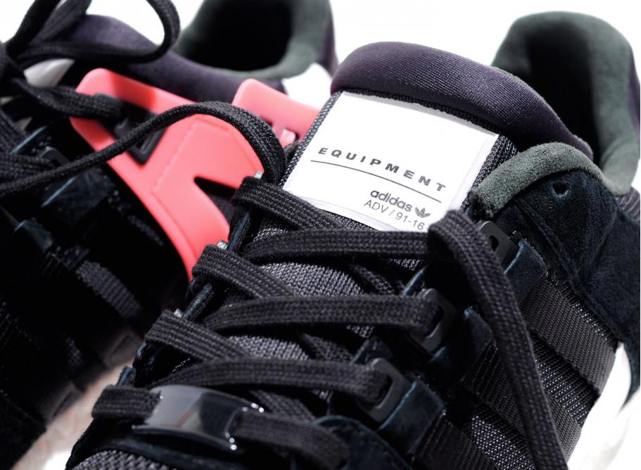 best service 68e0b 281d0 Adidas EQT Support Ultra Black / Turbo Red BB1237 / Soldes / Novoid Plus