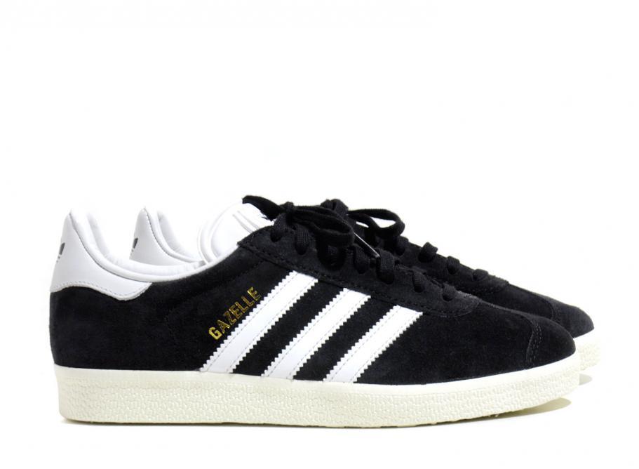 adidas gazelle black and white