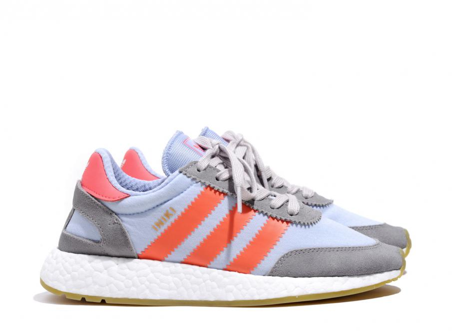 Adidas Iniki Runner tiza Solid Solid Solid GRIS / Turbo / Gum bb2098 / soldes 05c79b