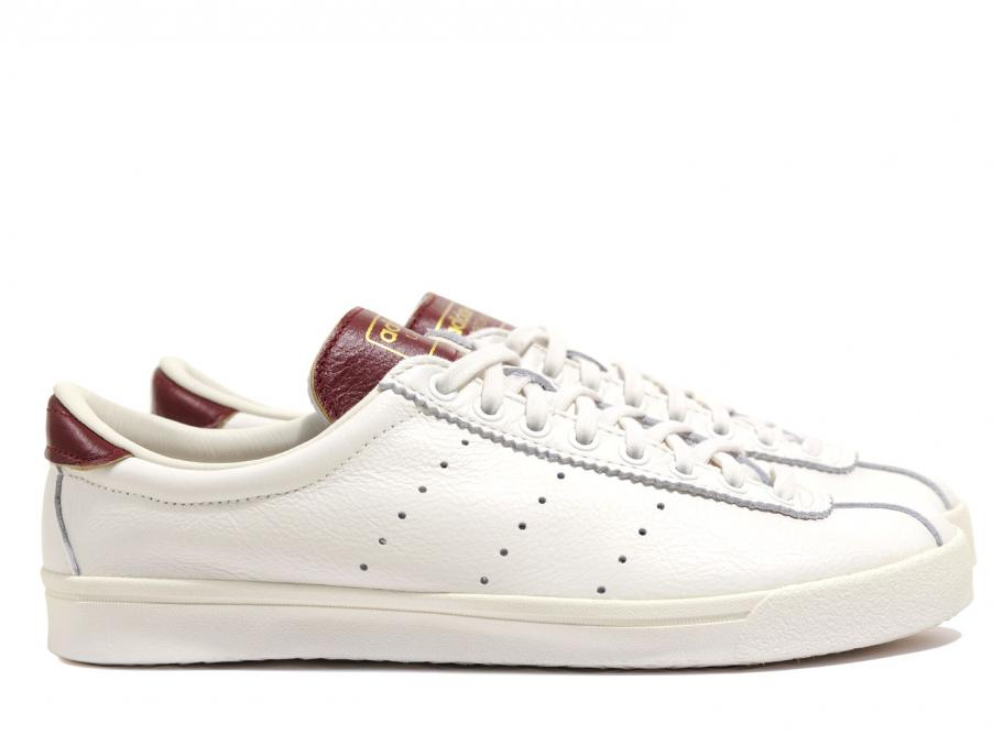 nouveau style b7569 66be8 Adidas Originals Lacombe White / Burgundy