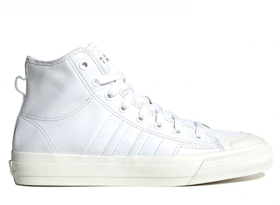 sélection premium e4e40 6d702 Adidas Originals Nizza RF Hi White Home Of Lcassics