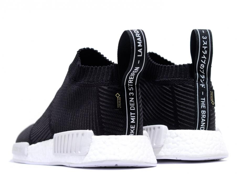 4120be0fc Adidas NMD CS1 GTX Primeknit Black BY9405   Soldes   Novoid Plus