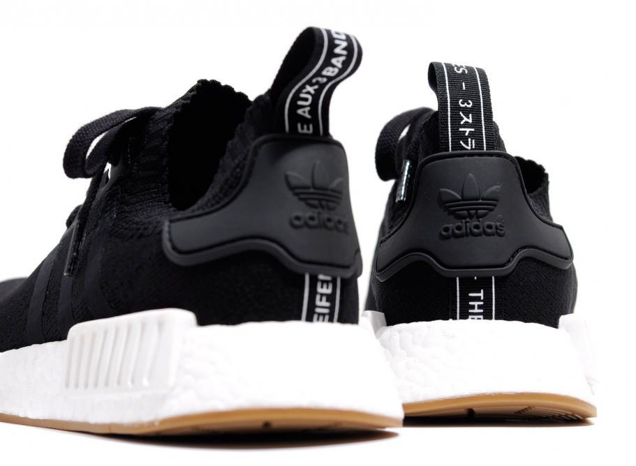 best service 4f2f3 0194c Adidas Originals NMD R1 PK Black Gum