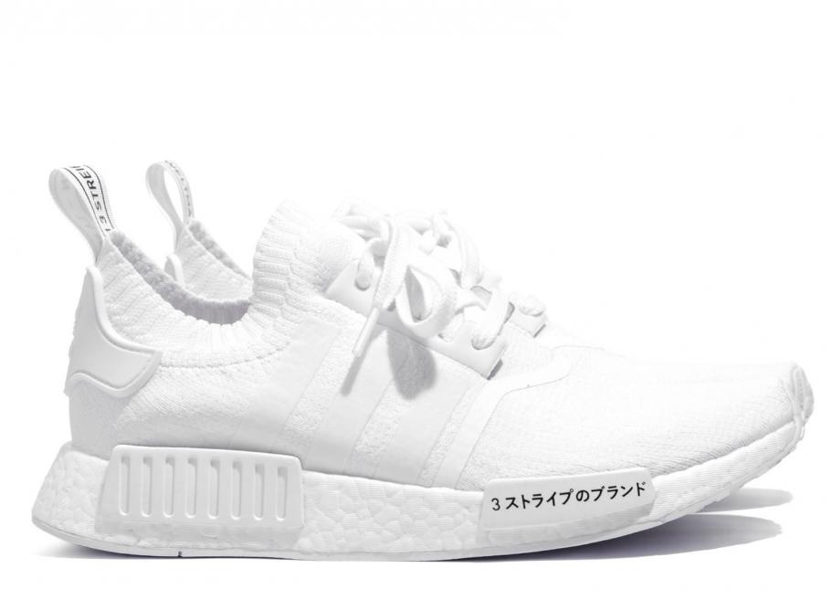 bf12c653f Adidas NMD R1 PK Japan Triple White BZ0221   Soldes   Novoid Plus