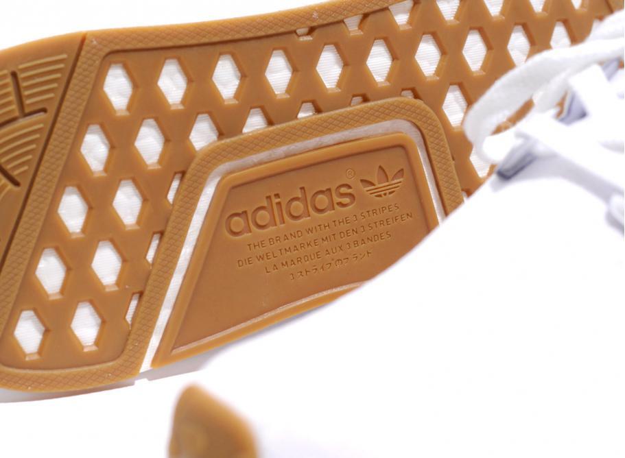 Adidas NMD R1 PK White Gum by1888 Soldes Novoid Plus