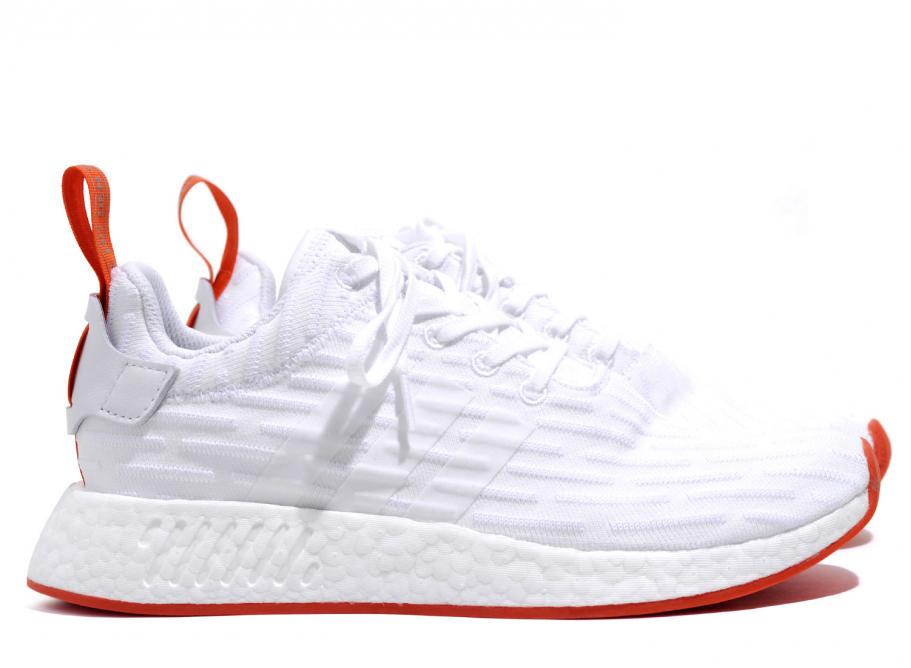 ADIDAS ORIGINALS NMD R2 PK WHITE / CORE RED