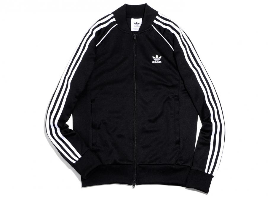 Adidas Originals SST Track Jacket Black CW1256   Soldes   Novoid Plus b51a2133b