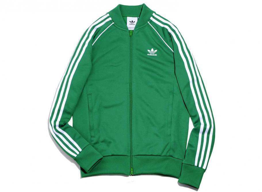 b1b9f8d62034 Adidas Originals SST Track Jacket Green CW1259   Soldes   Novoid Plus