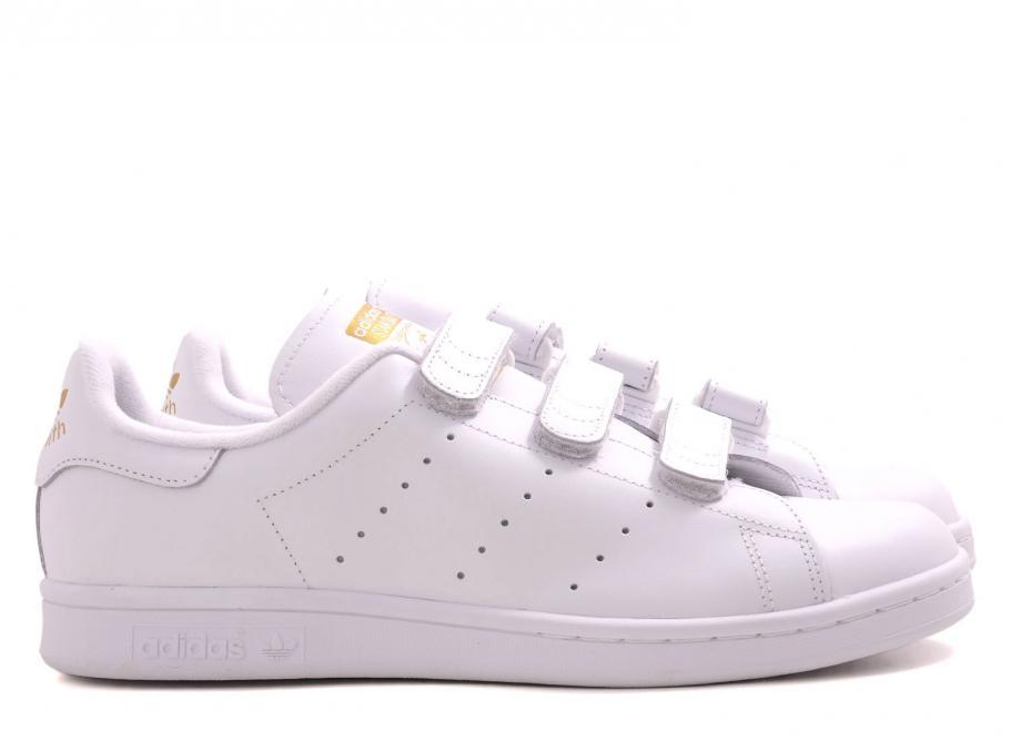 the latest f29c7 2bede Adidas Originals Stan Smith CF White / Gold