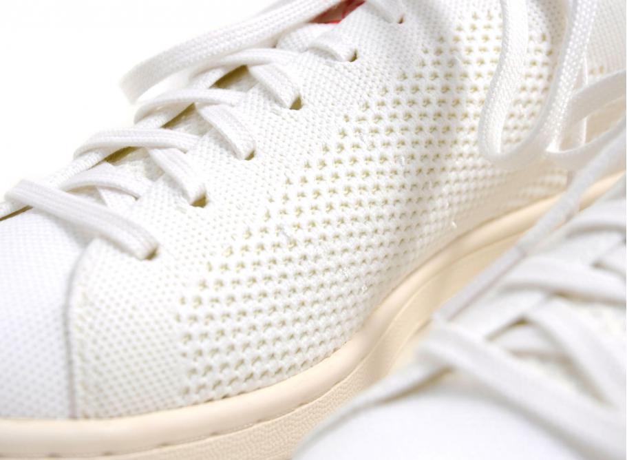 ec5b815771d Adidas Originals Stan Smith OG Primeknit White / Red