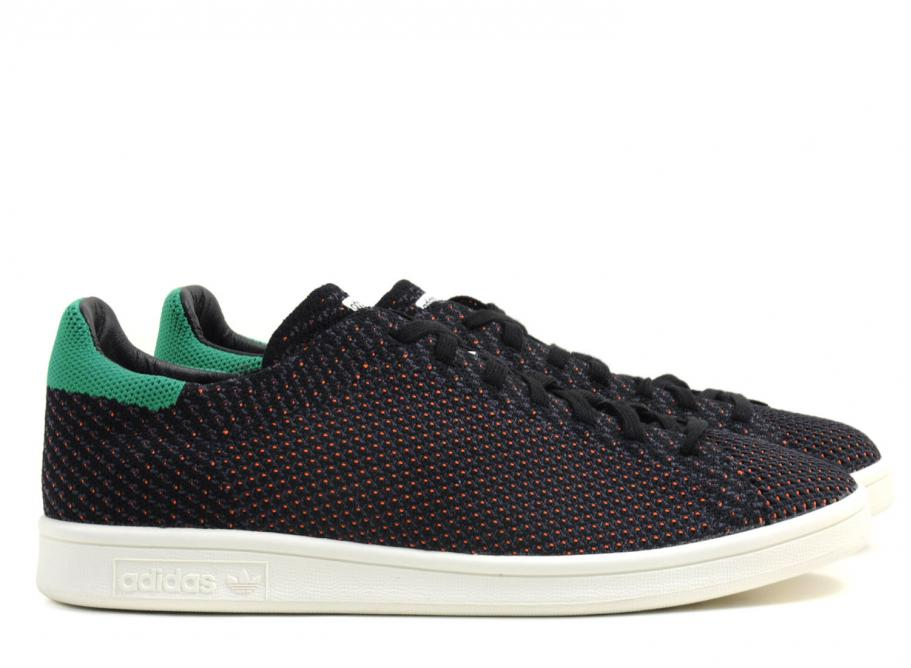 Adidas Originals Stan Smith Primeknit NM Black   Green   Soldes   Novoid  Plus f505af994