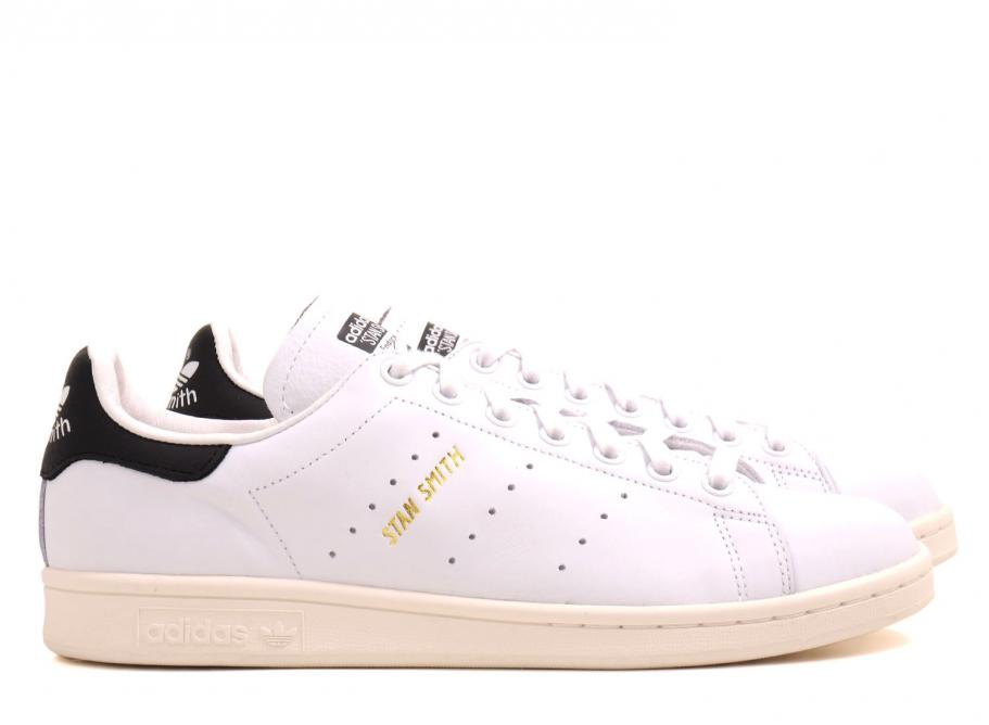 new product 8b7ff 837df Adidas Originals Stan Smith White / Gold / Black S75076