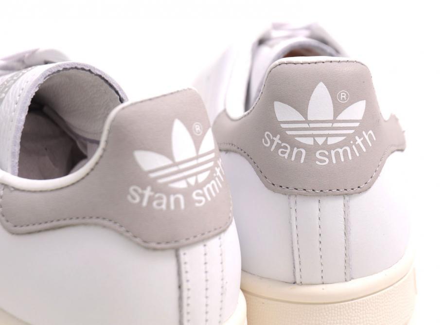 new styles 021cd 9fe5e Adidas Originals Stan Smith White / Gold / Grey