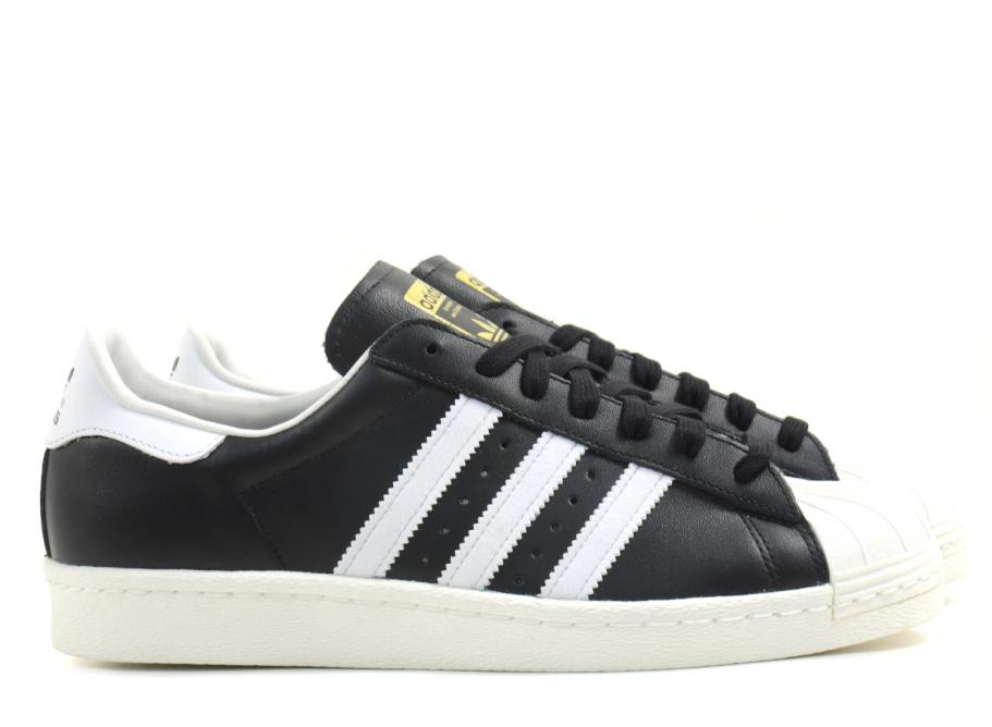 Adidas Originals Superstar 80s Black / White