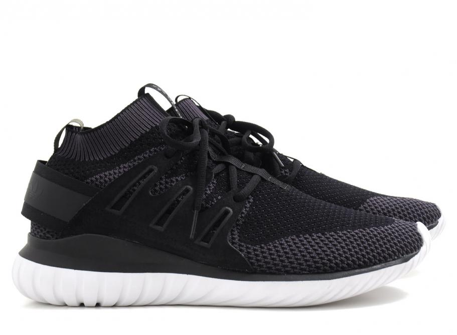 uk availability 1c312 8fa00 Adidas Originals Tubular Nova Primeknit Black